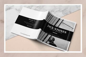 Square Portfolio Book