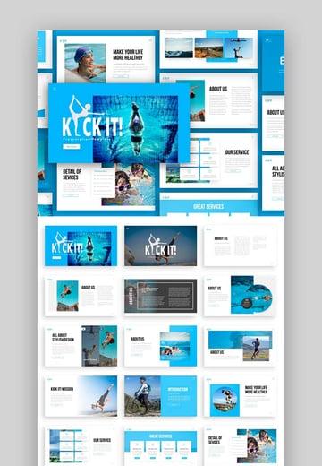 Kick It - Sport PPT Presentation