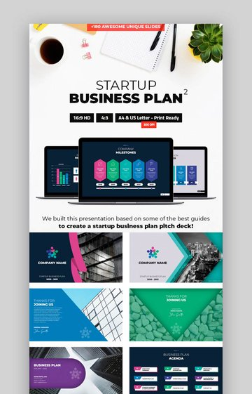 Startup Business Plan PPT Template