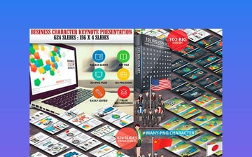 Business Characters Keynote Presentation