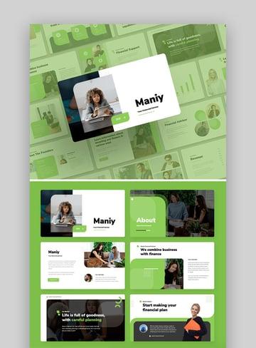Maniy - Finance Presentation Template