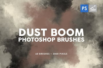60 Dust Brush Photoshop Textures