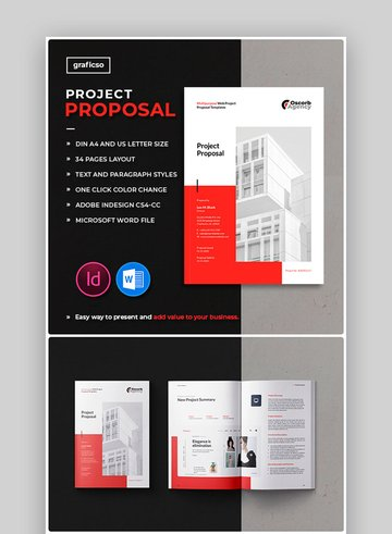 Project Proposal Template Word