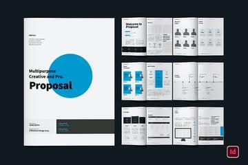 Multipurpose Brochure Design (INDD, DOCX)