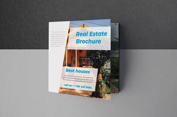 Real Estate Brochure Design (INDD, DOCX)