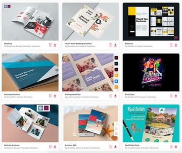 Enjoy unlimited brochure templates Word downloads with a subscription to Envato Elements.