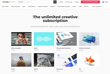 Get unlimited access to thousands of high quality design assets on Envato Elements.