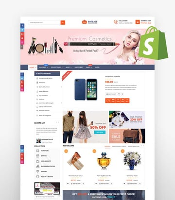 BigSale - Unlimited Bootstrap 4 Shopify Theme