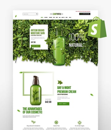 Comfortic - Clean Responsive Beauty  Cosmetic Shopify Theme