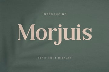 Morjuis - Serif Font