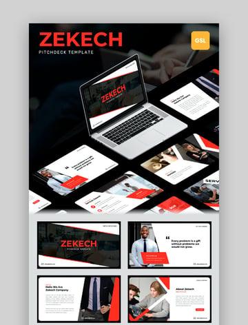 Zekech - Google Slides Deck Template