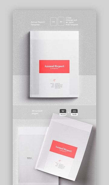 Annual Report Word Document Templates