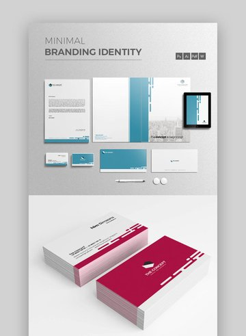 Brand Identity Templates for Word