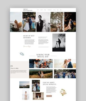 Artale - Wedding Photography WordPress