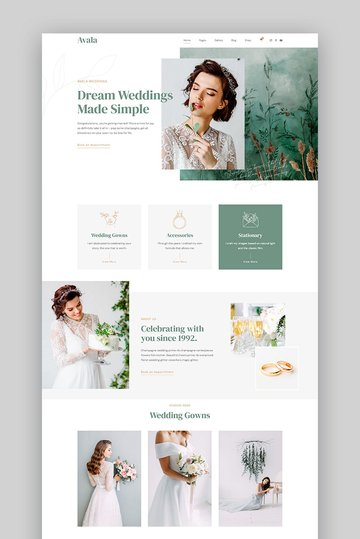 Avala - WordPress Wedding Theme