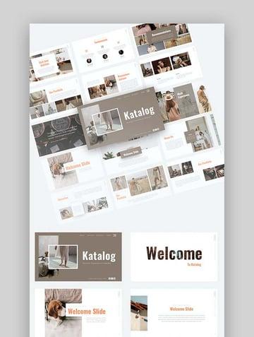 Katalog - PowerPoint Catalog Template