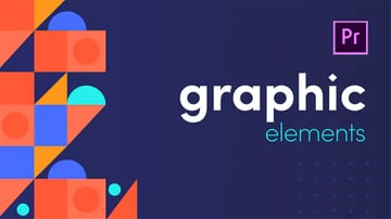 These Graphic Elements for Premiere Pro are from Envato Elements.