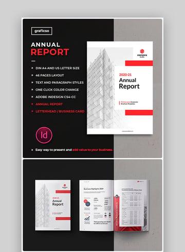 Minimalist Non Profit Annual Report