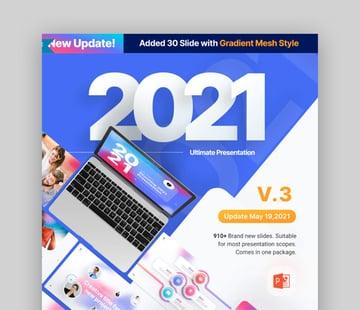 2021 Ultimate Multipurpose Custom PowerPoint Template