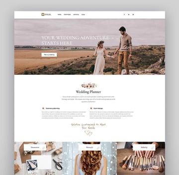 Evelix - Wedding Event WordPress Theme