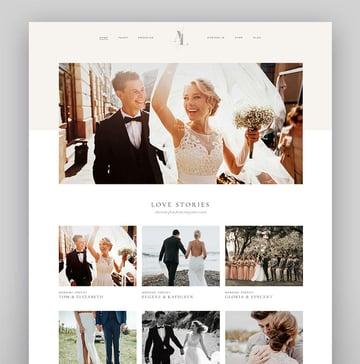 Solene - WordPress Wedding Theme For Photographers