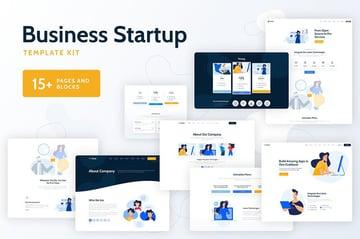 Vixus - Business Startup Template Kit