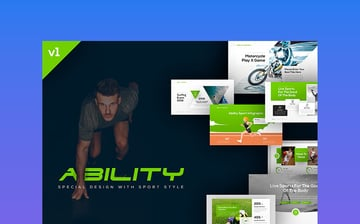 Ability - Sports PowerPoint Template Premium