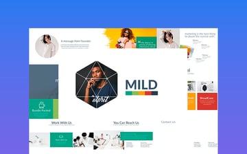 MILD - Premium PPT Template