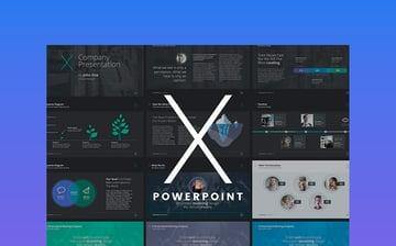 The X Note - Powerpoint Premium Theme
