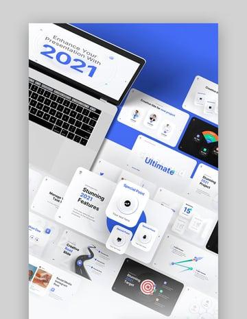 2021 Ultimate Multipurpose Premium PPT Template