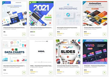 Get the best-selling and newest premium PowerPoint themes on GraphicRiver.