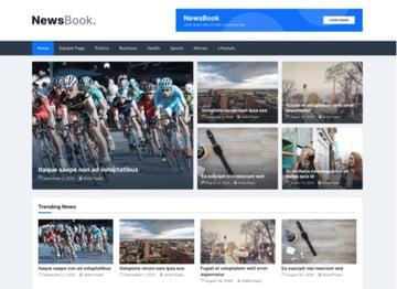 NewsBook Free WordPress News Theme