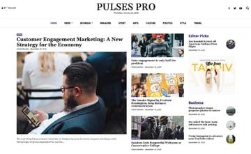Newspaper WordPress news theme
