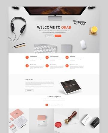 Okab - Responsive Multi-Purpose Super WordPress Theme