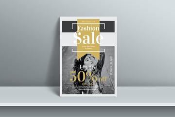 Sales Flyer Template (PSD)