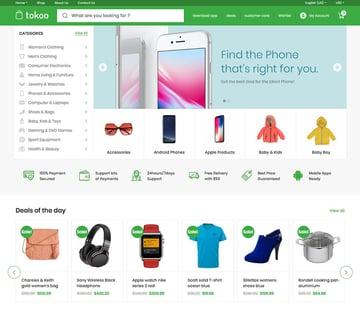 Tokoo - WooCommerce Theme for Affiliates