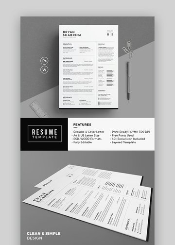 Resume - Minimal Resume Example