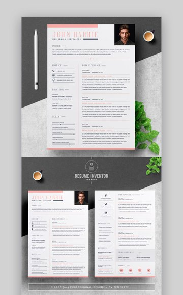 Resume - Stylish Resume Template