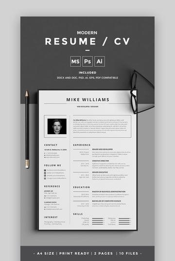 Modern Resume CV