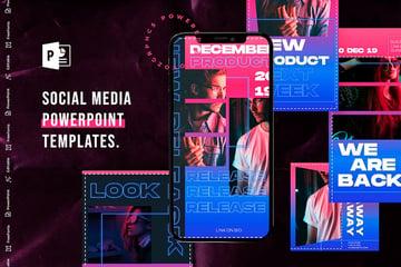 Social Media PowerPoint Template