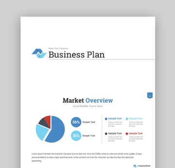 Business Plan Success PowerPoint Presentation Template