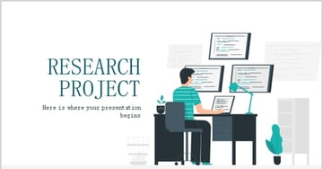 research report ppt