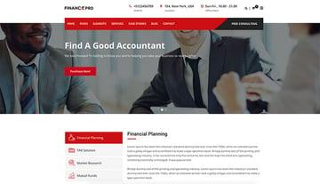 Finance Pro Business WordPress Theme