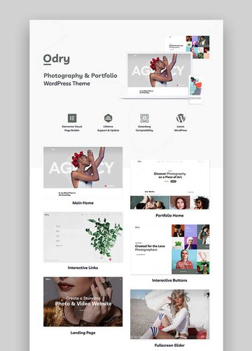 Odry - Photography Theme
