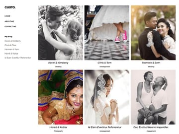 Gusto Free Photography Theme