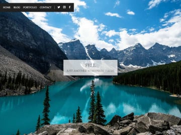 Fell Free WordPress Theme