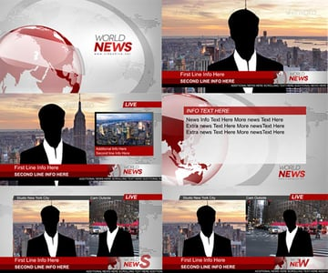 Broadcast News Essential Graphics