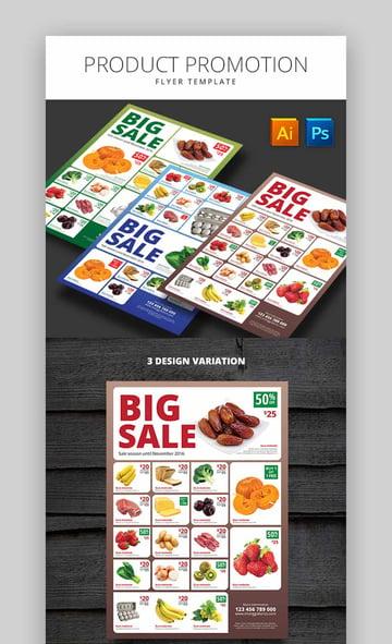 Product Promotion Flyer Big Sale