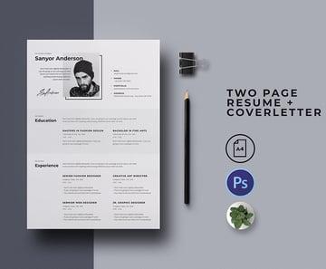 Resume Template Modern Free Download