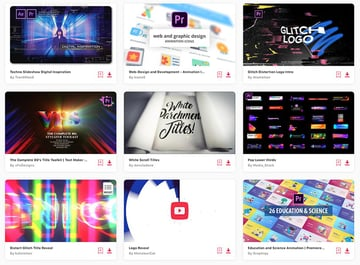 Get unlimited Premiere Pro templates from Envato Elements.